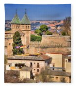 Toledo Town View Fleece Blanket