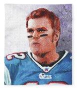 Tom Brady Fleece Blanket