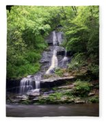 Tom Branch Falls Fleece Blanket
