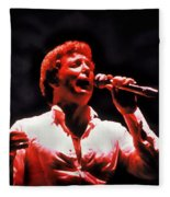 Tom Jones In Concert Fleece Blanket