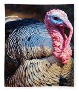 Tom Turkey Fleece Blanket