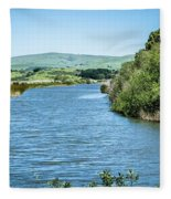Tomales Bay In Point Reyes National Seashore Park Near San Franc Fleece Blanket