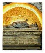 Tomb Of Dona Teresa Fleece Blanket