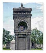 Tomb Of General P G T Beauregards Daughter Fleece Blanket