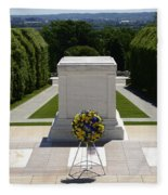 Tomb Of The Unknowns Fleece Blanket