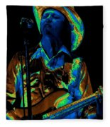 Tommy Caldwell Art 1 Fleece Blanket