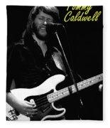 Tommy Caldwell In Spokane 2 Fleece Blanket