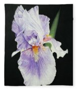 Tonto Basin Iris Fleece Blanket