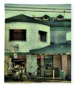 Tony Harpers - Vintage Postcard Fleece Blanket