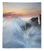 Too Close For Comfort Fleece Blanket