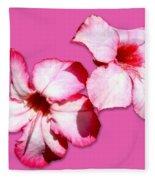 Too Pink Fleece Blanket
