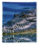 Toothy Grin Fleece Blanket