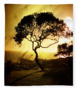 Top Of The Hill Fleece Blanket