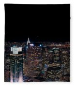 Top Of The Rock 3 Fleece Blanket