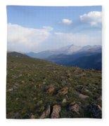 Top Of The Rockies Fleece Blanket