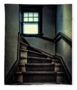 Top Of The Stairs Fleece Blanket