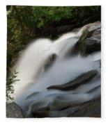 Top Of The Washington Cascades Fleece Blanket