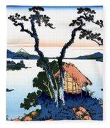 Top Quality Art - Mt,fuji36view-shinshu Suwako Fleece Blanket