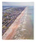 Topsail Buzz Surf City Fleece Blanket