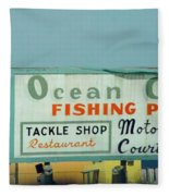 Topsail Island 1996 Ocean City Fleece Blanket