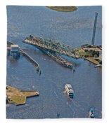 Topsail Swing Bridge Fleece Blanket