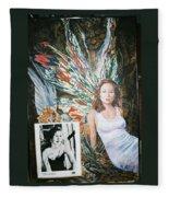 Tori Amos Fleece Blanket