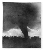 Tornado, C1913-1917 Fleece Blanket