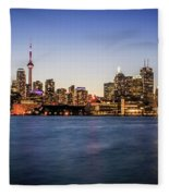 Toronto Sundown Fleece Blanket