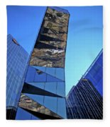 Torre Mare Nostrum - Torre Gas Natural Fleece Blanket