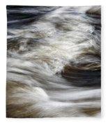 Water Flow 2 Fleece Blanket