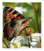 Tortoise Butterfly Fleece Blanket