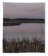 Total Peace And Calm Fleece Blanket