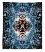 Totems Of The Vision Quests #1526 Fleece Blanket