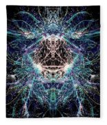 Totems Of The Vision Quests #1529 Fleece Blanket