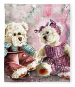 Toto Et Lolo Fleece Blanket