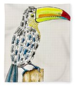 Toucan - You Are What You Eat Fleece Blanket