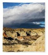 Touch Of A Rainbow Fleece Blanket