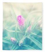 Touch Of Pink Fleece Blanket