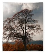 Touch The Sky Fleece Blanket
