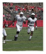 Rutgers Touchdown - Janarion Grant Fleece Blanket