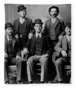 Tough Men Of The Old West 2 Fleece Blanket