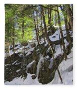 Tough Trees Fleece Blanket