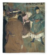 Toulouse-lautrec, 1892 Fleece Blanket