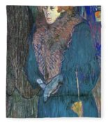 Toulouse-lautrec: J.avril Fleece Blanket