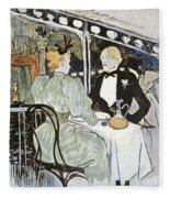 Toulouse-lautrec: Menu Fleece Blanket
