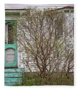Tourquoise Door Fleece Blanket