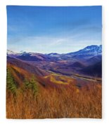 Toutle River Fleece Blanket