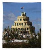 Tovrea's Castle Phoenix Fleece Blanket