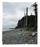 Tow Hill Haida Gwaii Bc Fleece Blanket