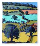 Towards Ledbury II Fleece Blanket